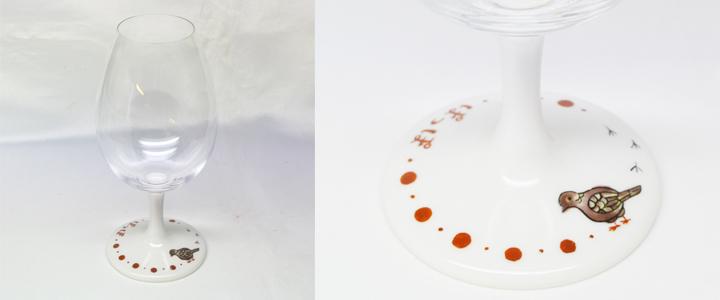 福島県 Y.A様オリジナルデザイングラスの例